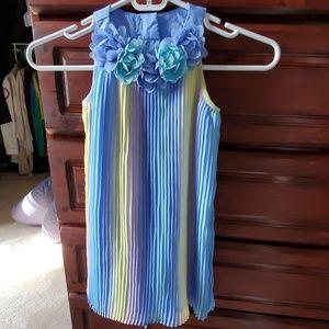 Pastel dressy toddler dress